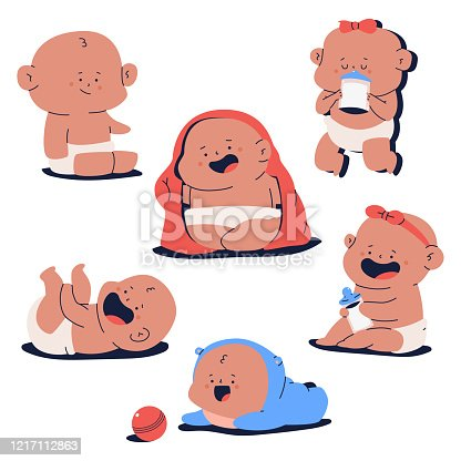 Crying Kid Clipart - Crying Babies Clipart , Free Transparent Clipart -  ClipartKey