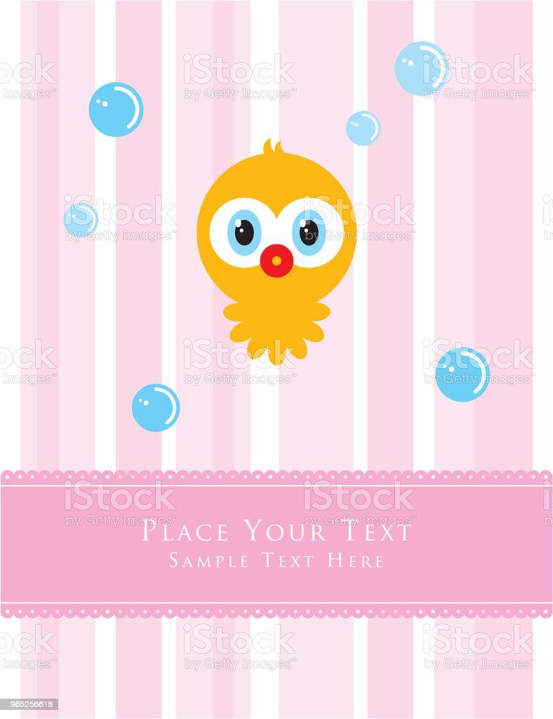 cute octopus greeting card vector cute octopus greeting card vector - stockowe grafiki wektorowe i więcej obrazów baby shower royalty-free