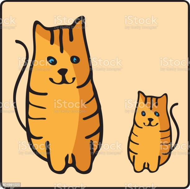 Cute orange redheaded cat kids illustration with domestic animal pet vector id824991020?b=1&k=6&m=824991020&s=612x612&h=iqoqgcz2foglavxmkqhfexlgc qz75uc5nbh8irqa7s=