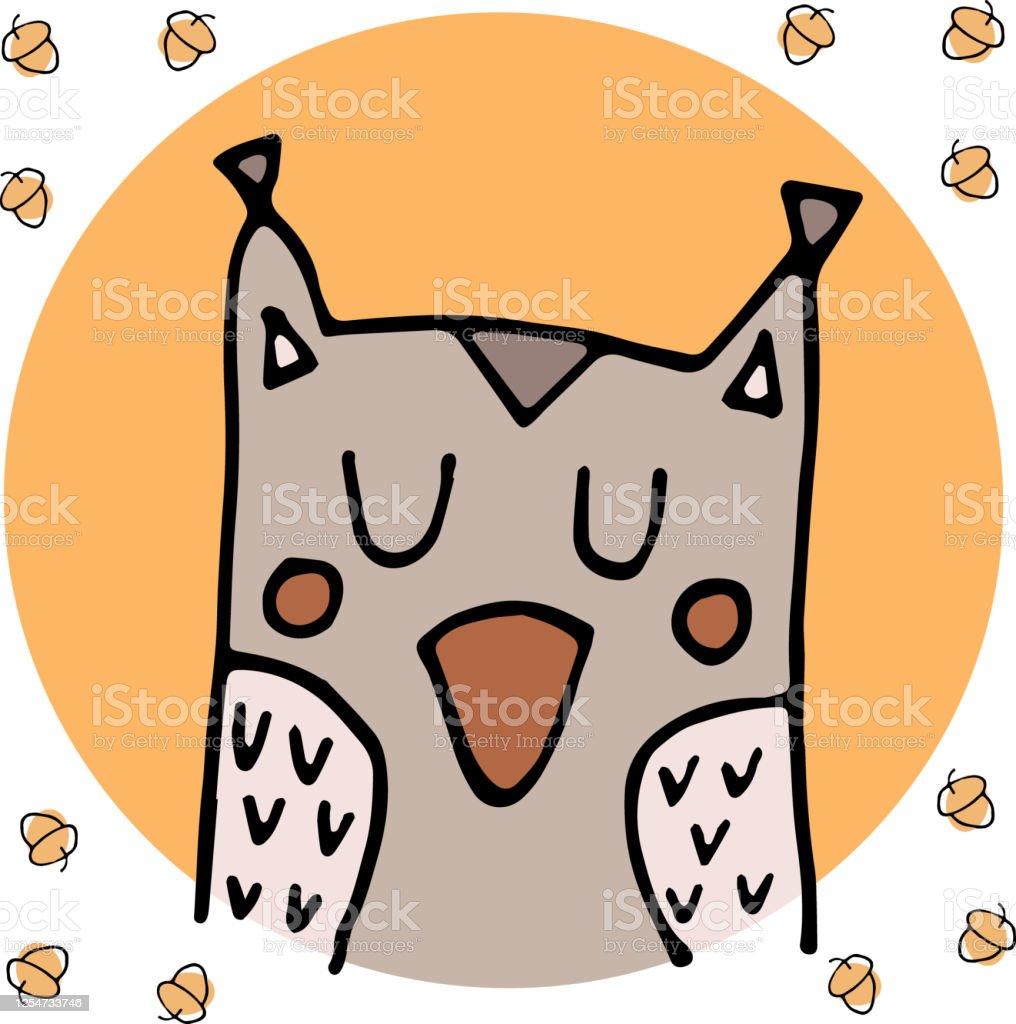 かわいいフクロウのイラスト動物園のイラストかわいい漫画の動物本のイラスト壁紙その他のアイテムに使用できます いたずら書きのベクターアート素材や画像を多数ご用意 Istock