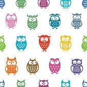 Owl Repeat Pattern