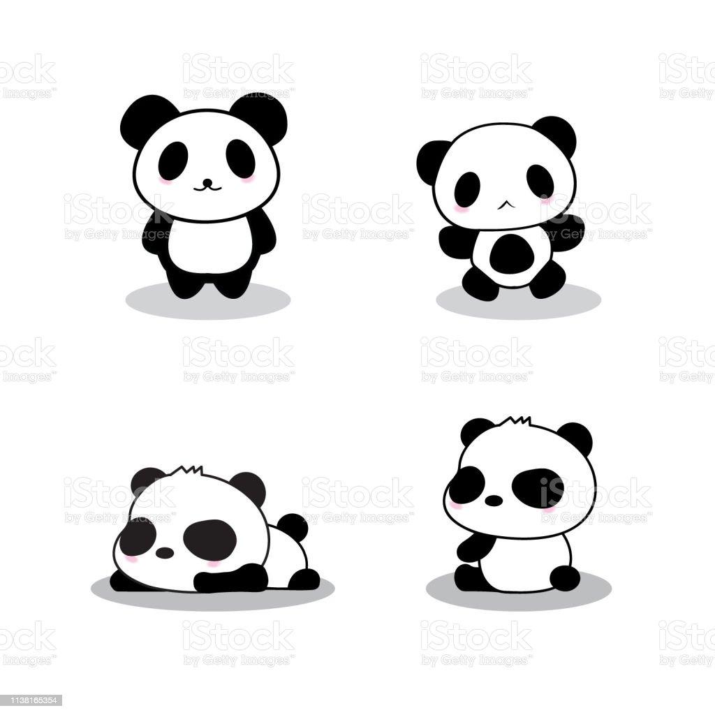 Cute Panda Cartoon Stock Illustration Download Image Now Istock