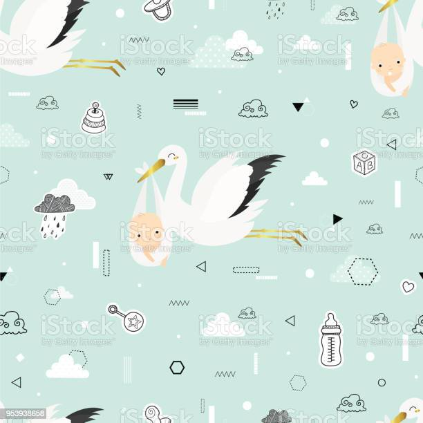 Cute pattern with storks vector id953938658?b=1&k=6&m=953938658&s=612x612&h=xpqpwpttteuduy4mb1oompxbmtylcrm3ffh u 7ojeo=
