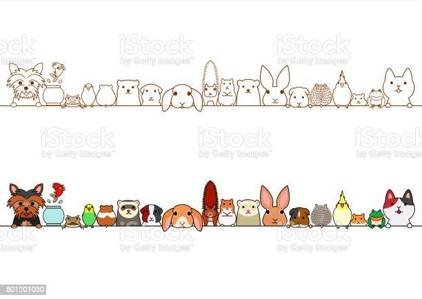 Cute pet animals border set vector id801201030?b=1&k=6&m=801201030&s=612x612&h=lvsybbmiyuf0qopn4cje7jm2sz5kr84nbzlwo7pvuye=