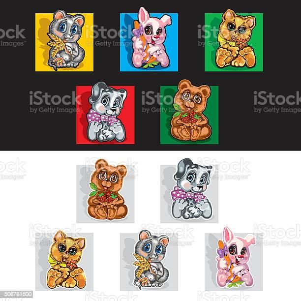 Cute pets cartoon characters vector id506761500?b=1&k=6&m=506761500&s=612x612&h=leepz7blnxq z4p5vqob2uuyr0vqar9m2ldvivbi7zm=