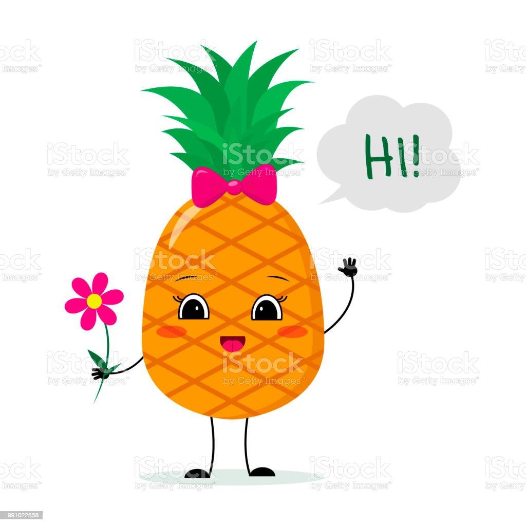 XL Pineapple Bow