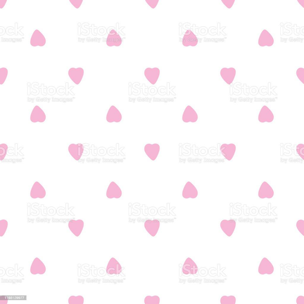 かわいいピンクのハートシームレスなパターン14 2月の壁紙 お祝いのベクターアート素材や画像を多数ご用意 Istock