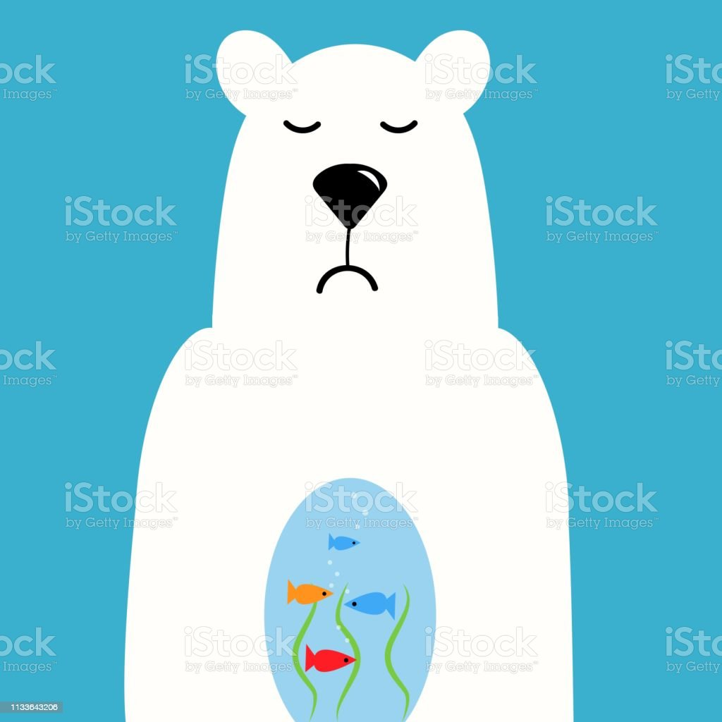 3D Printed T Shirts Polar Bear Winter Fun Arctic Portrets Watercolor Patterns Fo