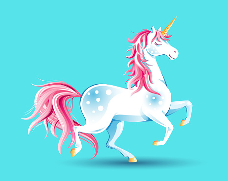 Cute poster with Unicorn.