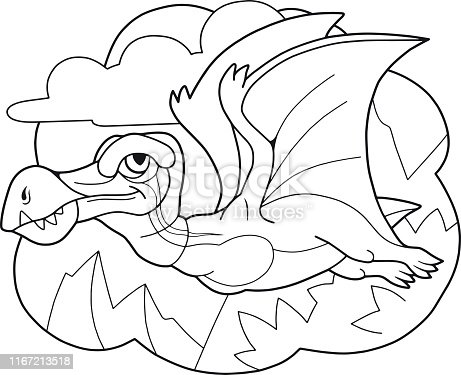 Dinozor Boyama Sayfalari