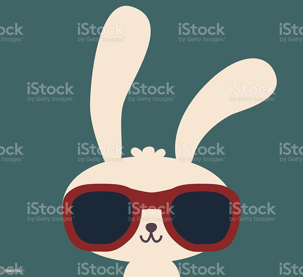 Cute Rabbit - Vector File EPS10 vector art illustration