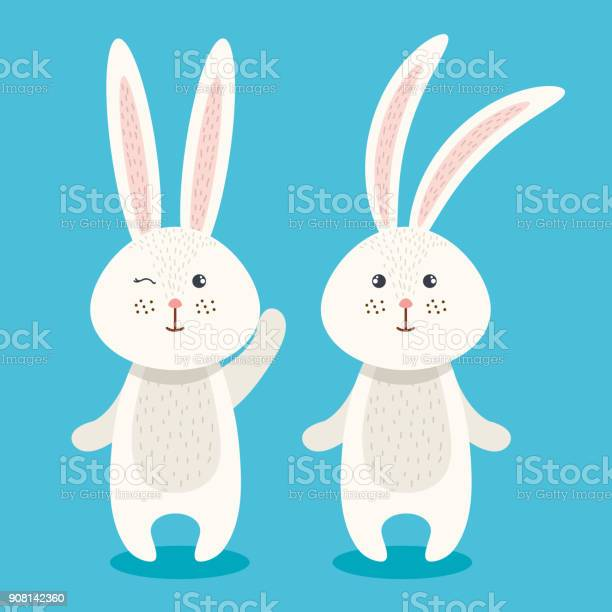Cute rabbits couple characters vector id908142360?b=1&k=6&m=908142360&s=612x612&h=smwsvrnkehiaujwkjbhjnghu9ggxljqi d5wvdl4pgw=