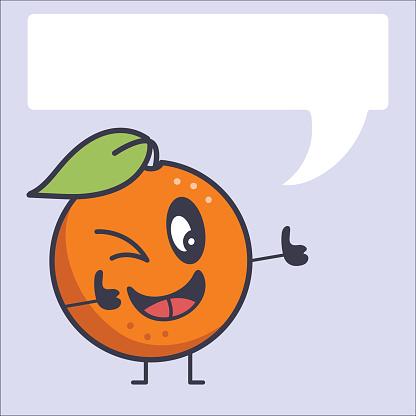 Cute Retro Orange Pattern