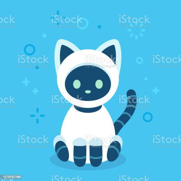 Cute robot cat vector id1079767266?b=1&k=6&m=1079767266&s=612x612&h=vbzu4tnxa 4jw0awbc2wwnpvs02rkdsb  pbq weq6e=