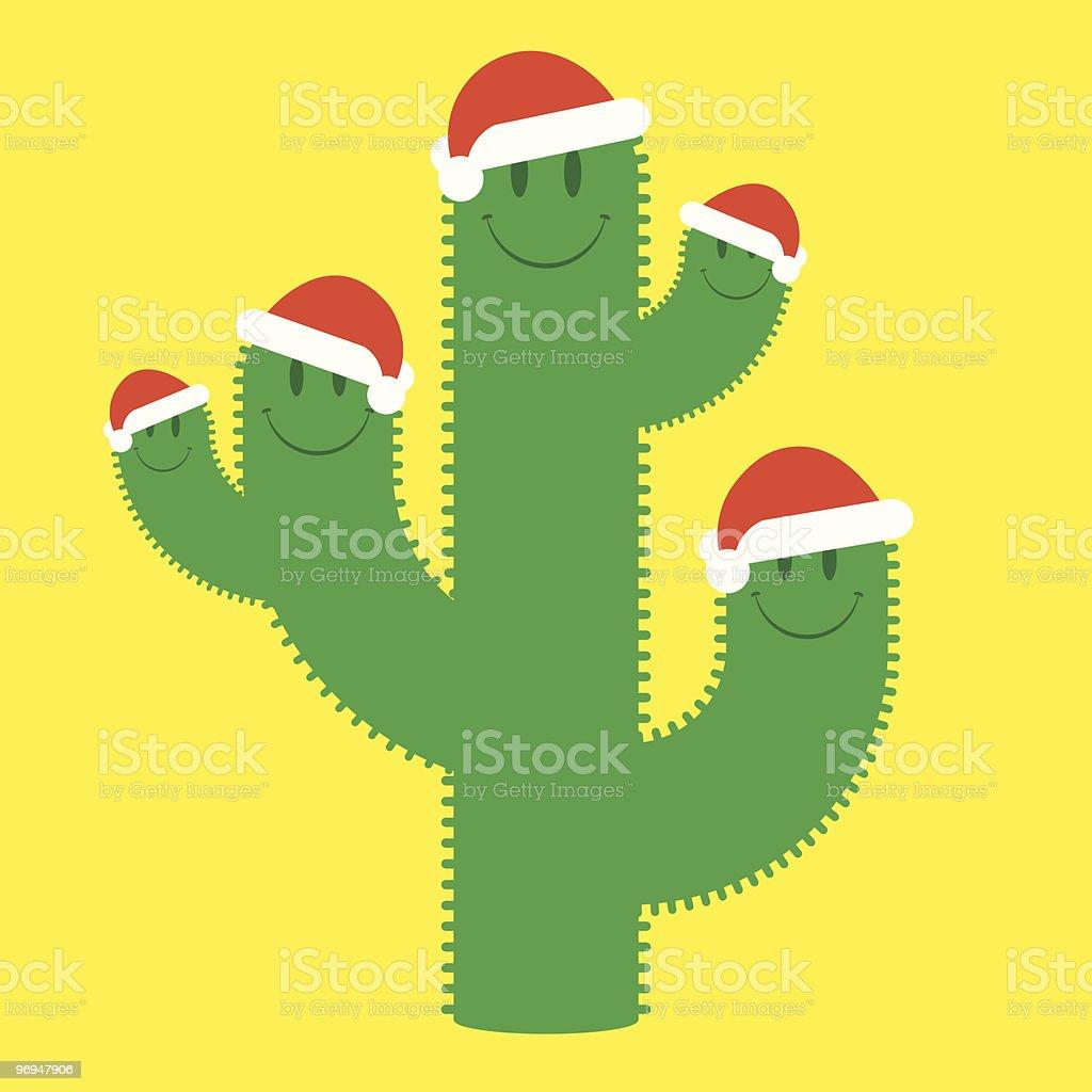Cute santa cactus family royalty-free cute santa cactus family stock vector art & more images of advent