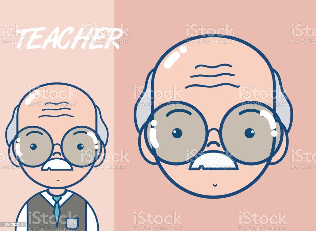 Cute school teacher cartoon royalty-free cute school teacher cartoon stock vector art & more images of adult