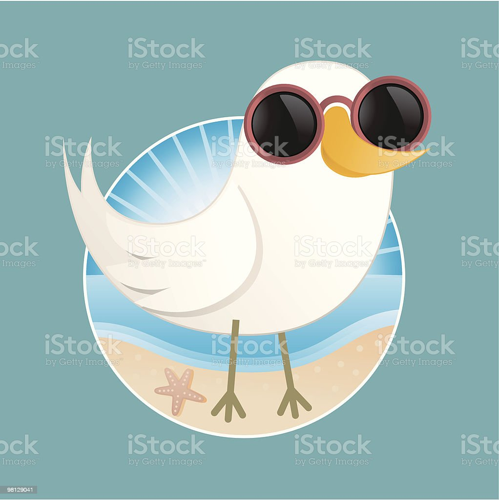 Cute Seagull Character royalty-free cute seagull character stock vector art & more images of art product