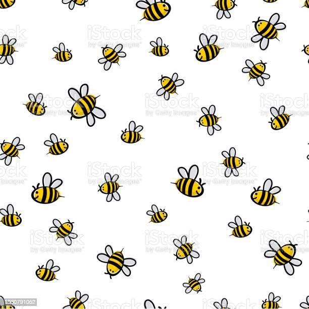 Cute seamless bee pattern vector vector id1030791052?b=1&k=6&m=1030791052&s=612x612&h= 0dsmtaji7qz8b84xxiubyfpnj6ulgm tqaakfc2z a=