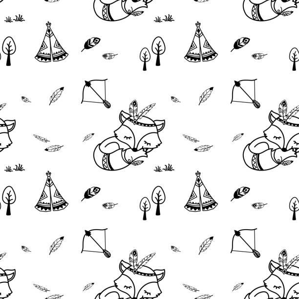 Best Totem Pole Animal Templates Background Illustrations ...