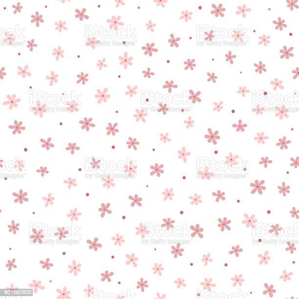 Cute seamless pattern with small flowers and round dots endless vector id931662620?b=1&k=6&m=931662620&s=612x612&h=gdchkpqb gc ujndunzlqrybdxbu0gz3emsmhindsdi=
