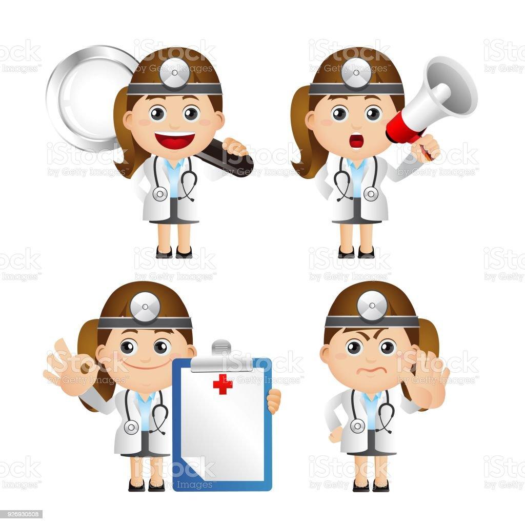 医者のかわいいセット セット がん専門医のベクターアート素材や画像を多数ご用意 Istock