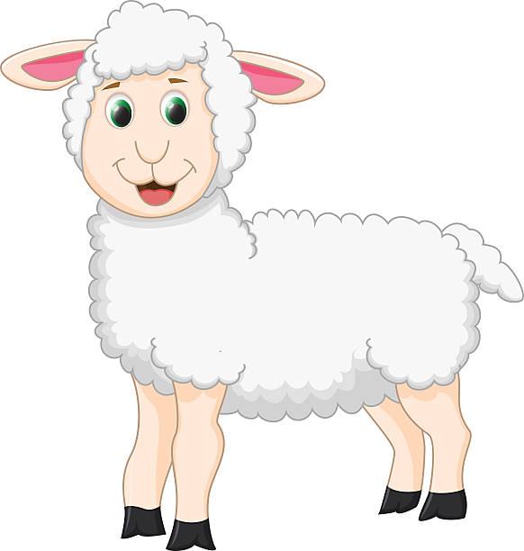 Baby Lamb Clipart Illustrations, Royalty-Free Vector ...