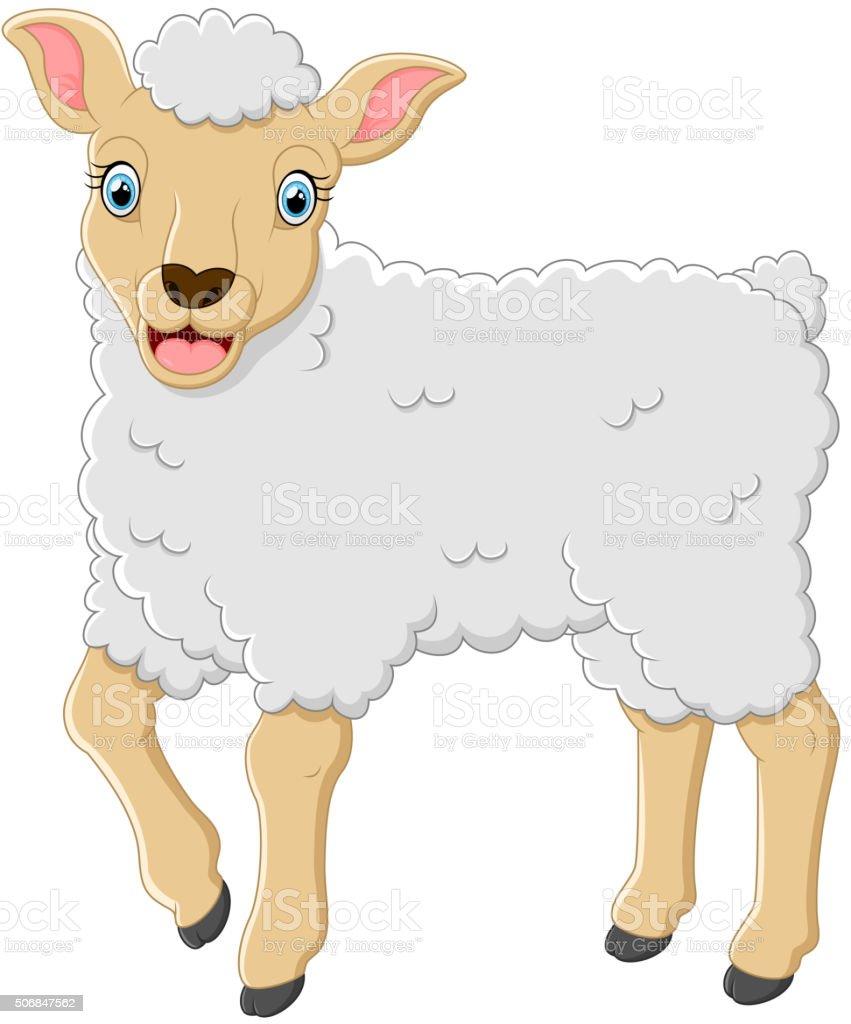 Dessin anim mignon mouton cliparts vectoriels et plus d - Mouton dessin anime ...
