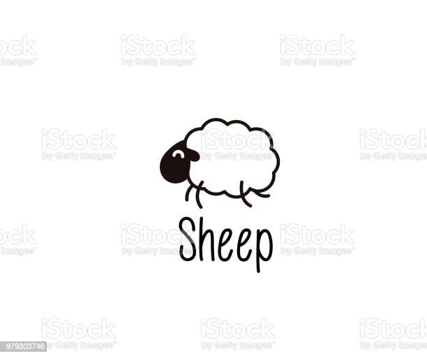 Cute sheep doodle vector illustration of a happy jumping lamb for vector id979303746?b=1&k=6&m=979303746&s=612x612&h=4ukpttpgjs53iafvlsy8frmivebvv9fv tgoutrvo9s=