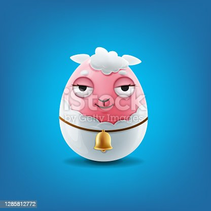 istock cute sheep for graphic easter decorations 1285812772