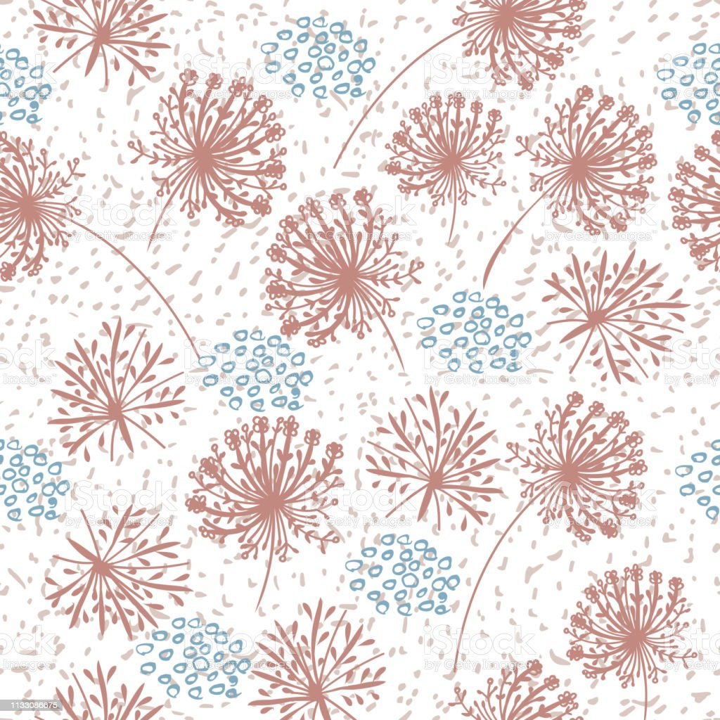 ストロークスポットや花柄とかわいいシンプルで素朴な壁紙パターン やわらかのベクターアート素材や画像を多数ご用意 Istock