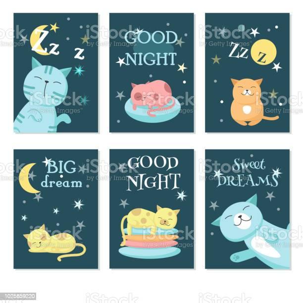Cute sleeping pet cats vector card set vector id1025859220?b=1&k=6&m=1025859220&s=612x612&h=kofpjj68mkuq2ovaxikol6gavuondye28o lti7eznw=