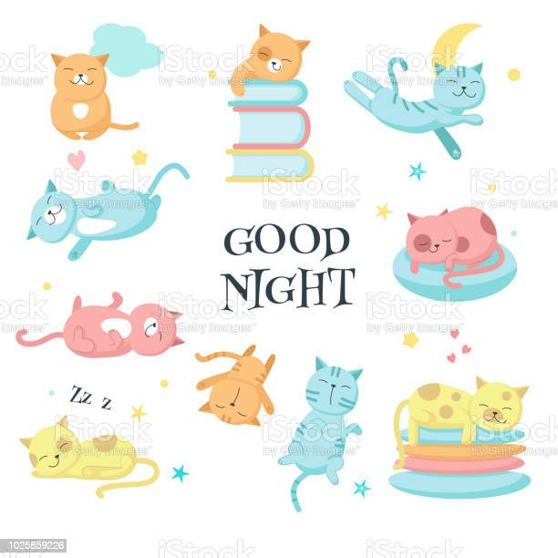 Cute sleeping pet cats vector icon set vector id1025859226?b=1&k=6&m=1025859226&s=612x612&h=xc6ntskhidwdrnwx0bp180upqe9rbkprnxgxoybvhbk=