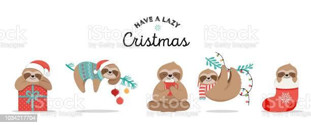 Cute sloths funny christmas illustrations with santa claus costumes vector id1034217704?b=1&k=6&m=1034217704&s=612x612&h=uxpxlawiieb3u2 7zhmfcodfwtexqvb5tpss2rmfdhq=