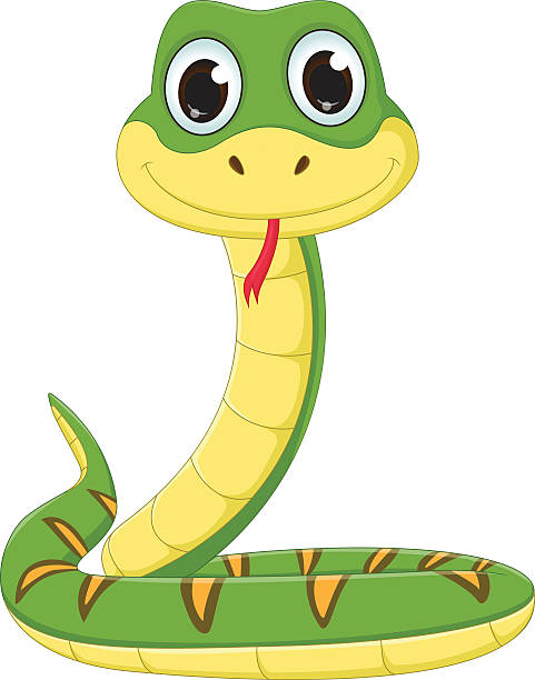 Royalty Free Snake Head Clip Art, Vector Images ...
