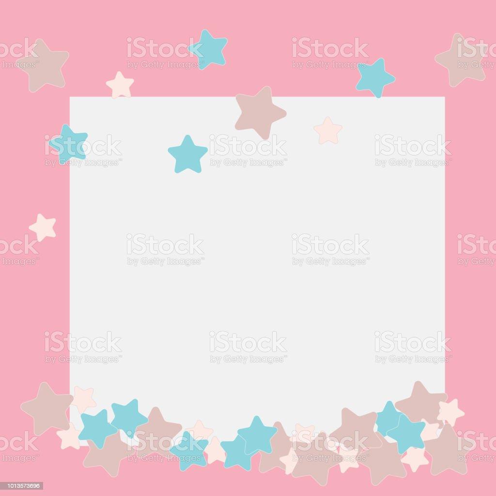 かわいい星メモ壁紙背景 イラストレーションのベクターアート素材や