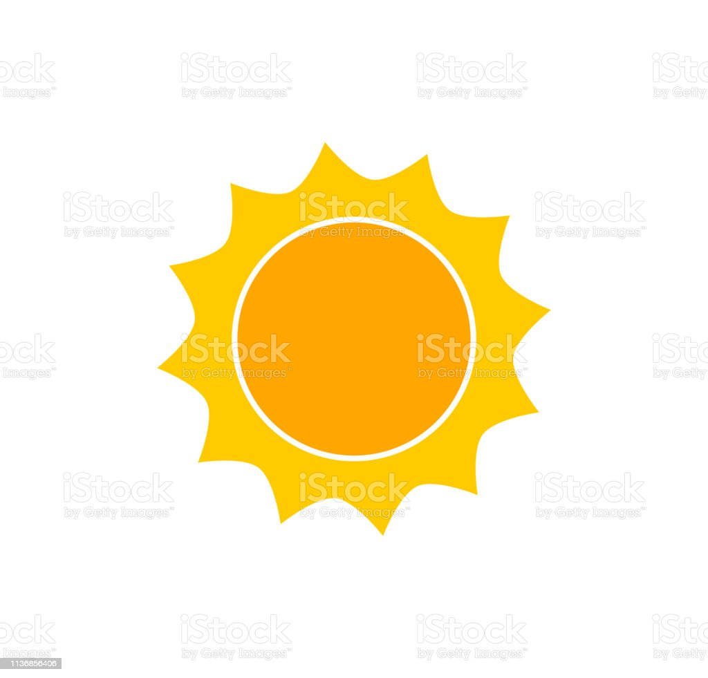 Cute sun icon. royalty-free cute sun icon stock illustration - download image now