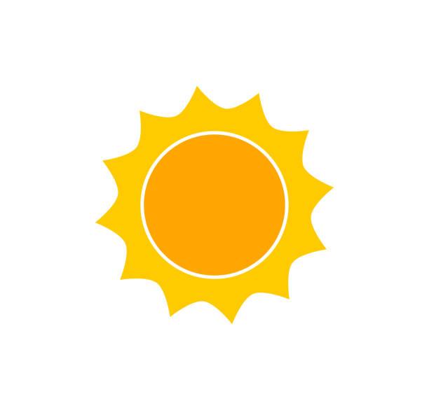bildbanksillustrationer, clip art samt tecknat material och ikoner med söt sol ikonen. - sun