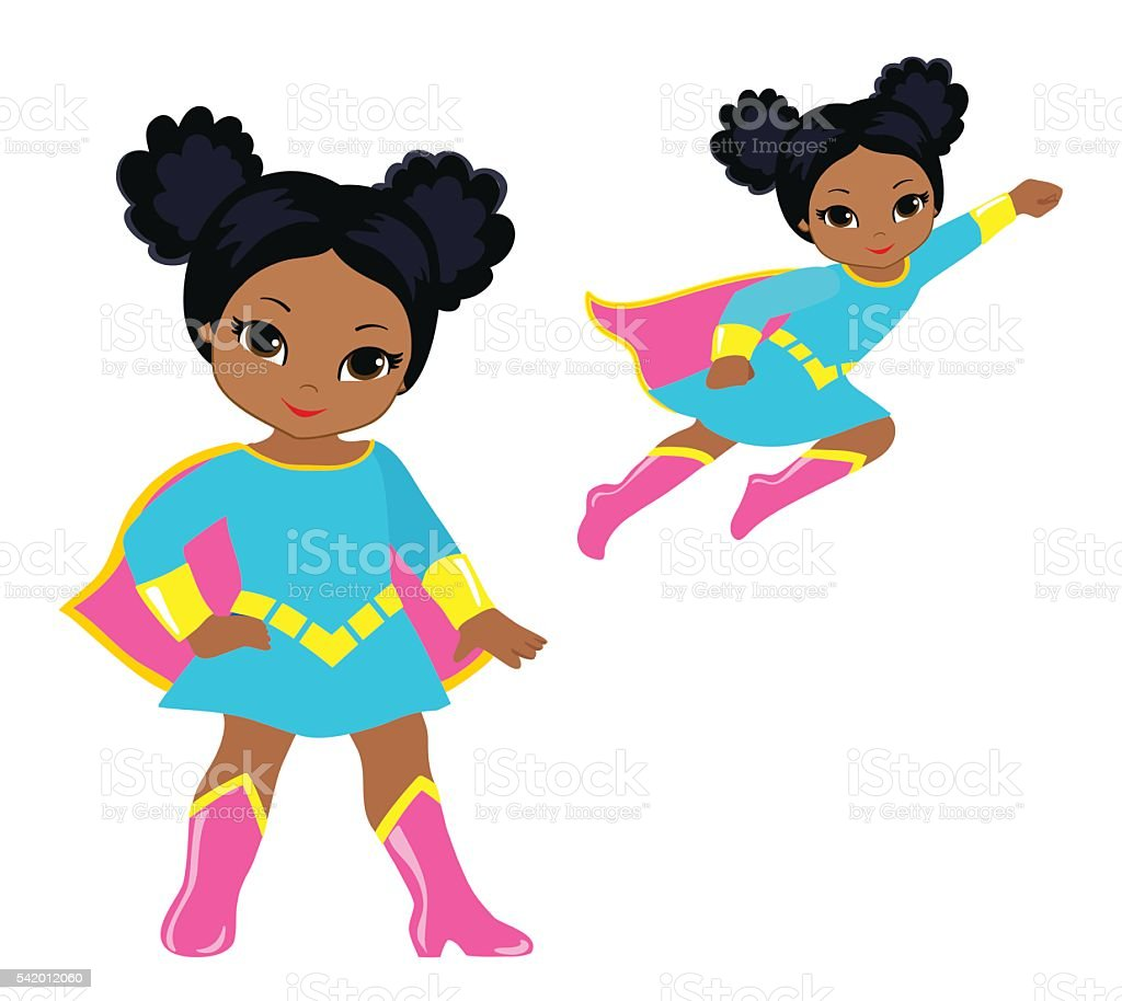 cute superhero girl vector clip art set stock vector art more rh istockphoto com superheroes clipart free superheroes clipart images