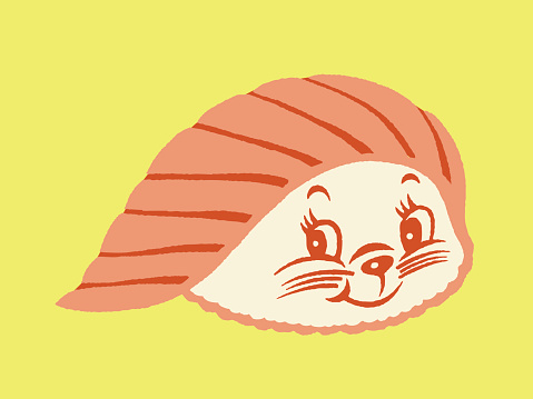 Cute Sushi Face