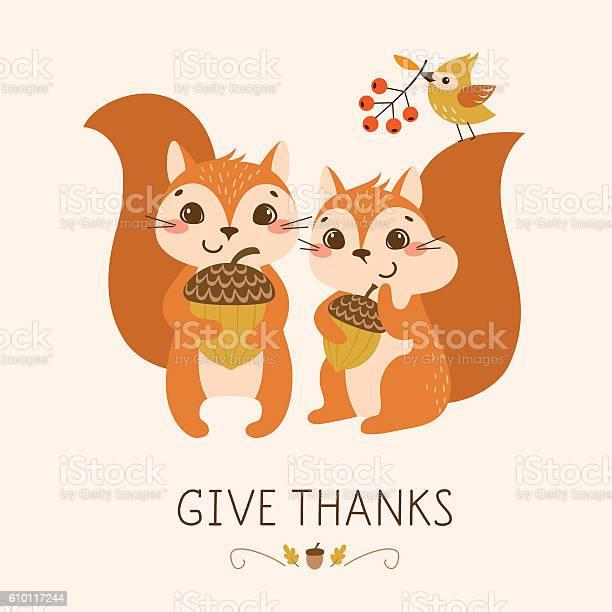 Cute thanksgiving squirrels vector id610117244?b=1&k=6&m=610117244&s=612x612&h=c8ssqa2qlavjbc8wheorlvium8a0ibzsosmzrwwfego=