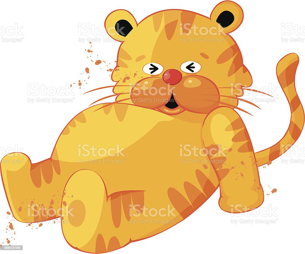 Cute Tiger Cartoon Character royalty-free cute tiger cartoon character stock vector art & more images of animal