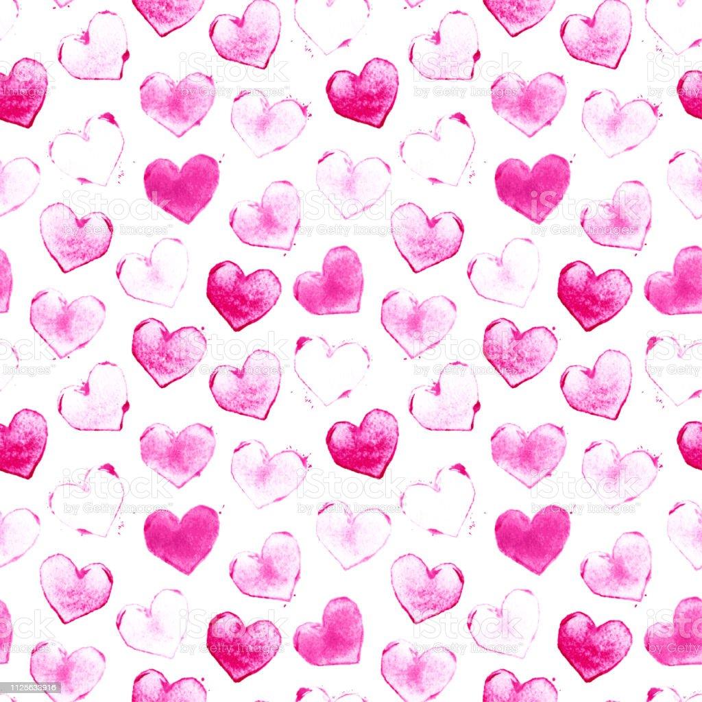 Sirin Kucuk Kalplerini Bir Damga Ve Pembe Beyaz Kagit Sayfasi