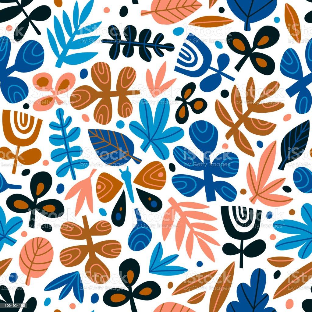 ファブリック壁紙かわいい流行のデザインは紙をラップします 北欧スタイルには背景が繰り返されますベクトルの図 いたずらのベクターアート素材や画像を多数ご用意 Istock