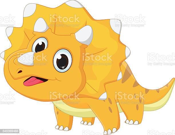 Cute triceratops cartoon vector id545369466?b=1&k=6&m=545369466&s=612x612&h=cnq9lyexszuufaz7z7tv5pvuv5u bbctrey1zllwjby=