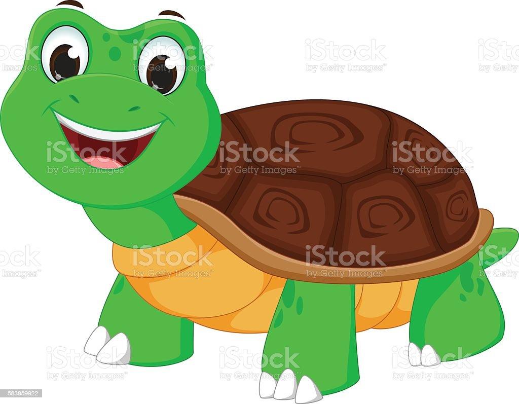 royalty free cute cartoon turtles walking clip art vector images rh istockphoto com Tortoise and Hare Clip Art Animated Tortoise