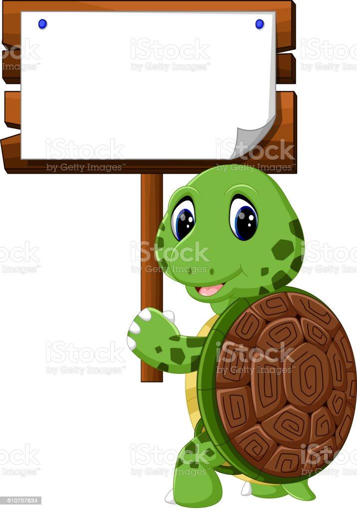 Cute Turtle Cartoon Stock Illustration Download Image Now Istock