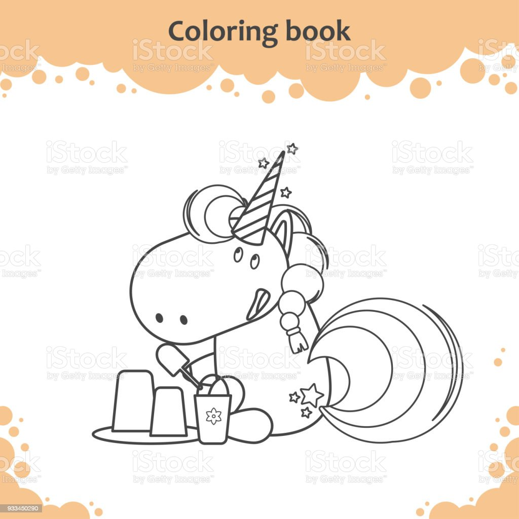 Summer beach coloring pages for kids, free, printable | coloing ... | 1024x1024