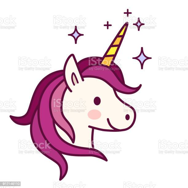 Cute unicorn with pink mane vector illustration simple flat line vector id912146110?b=1&k=6&m=912146110&s=612x612&h=rku7kdxxjnnzrfb99t4rdjnm m7z9p19 3geefglbsi=