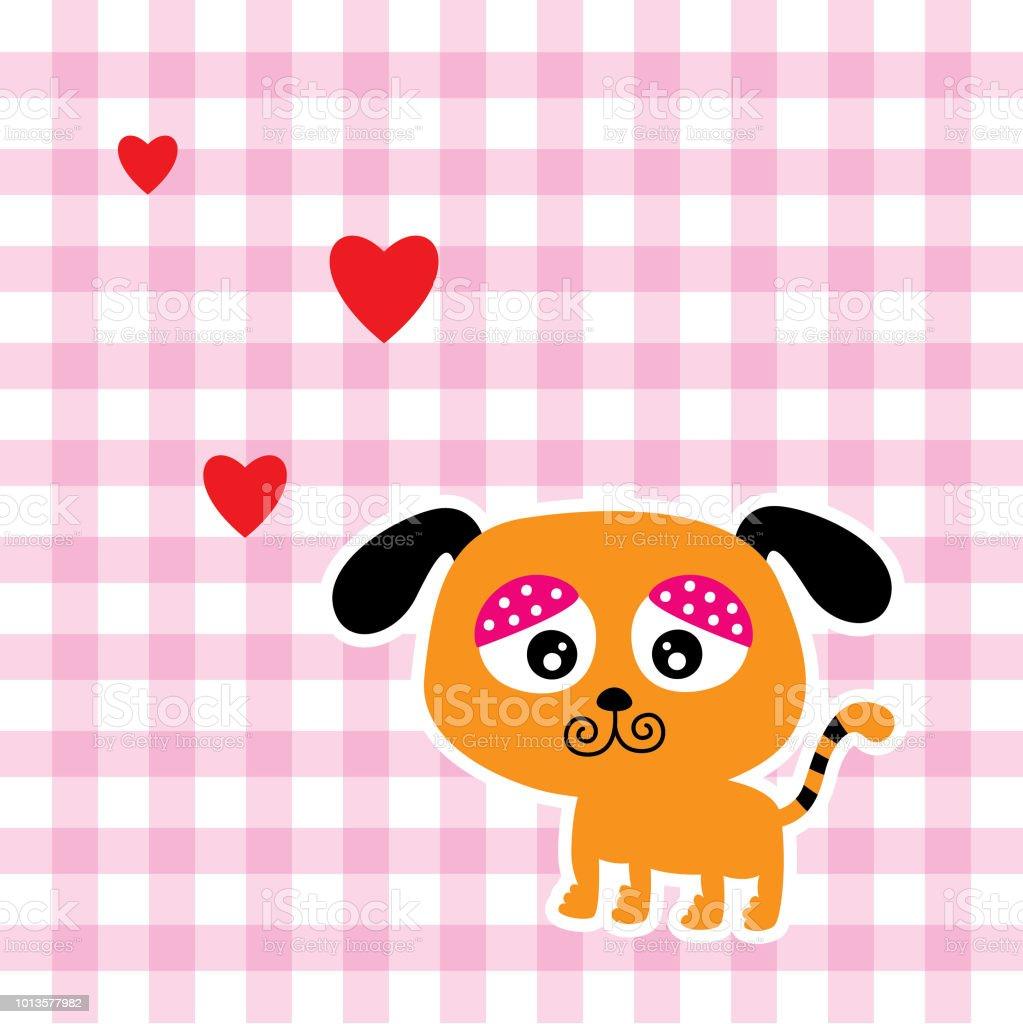 Vetores De Cachorrinho Fofo Dia Dos Namorados E Mais Imagens