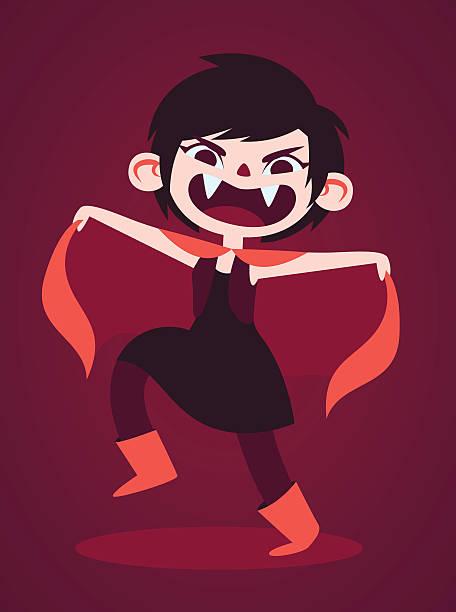 Royalty Free Vampire Teen Clip Art, Vector Images ...